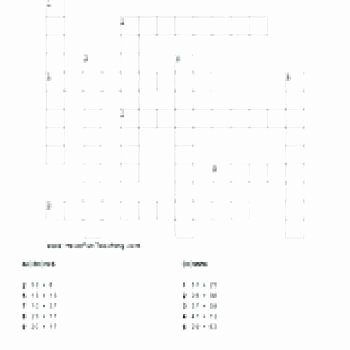 Number Grid Puzzles Worksheets Addition Puzzle Worksheets