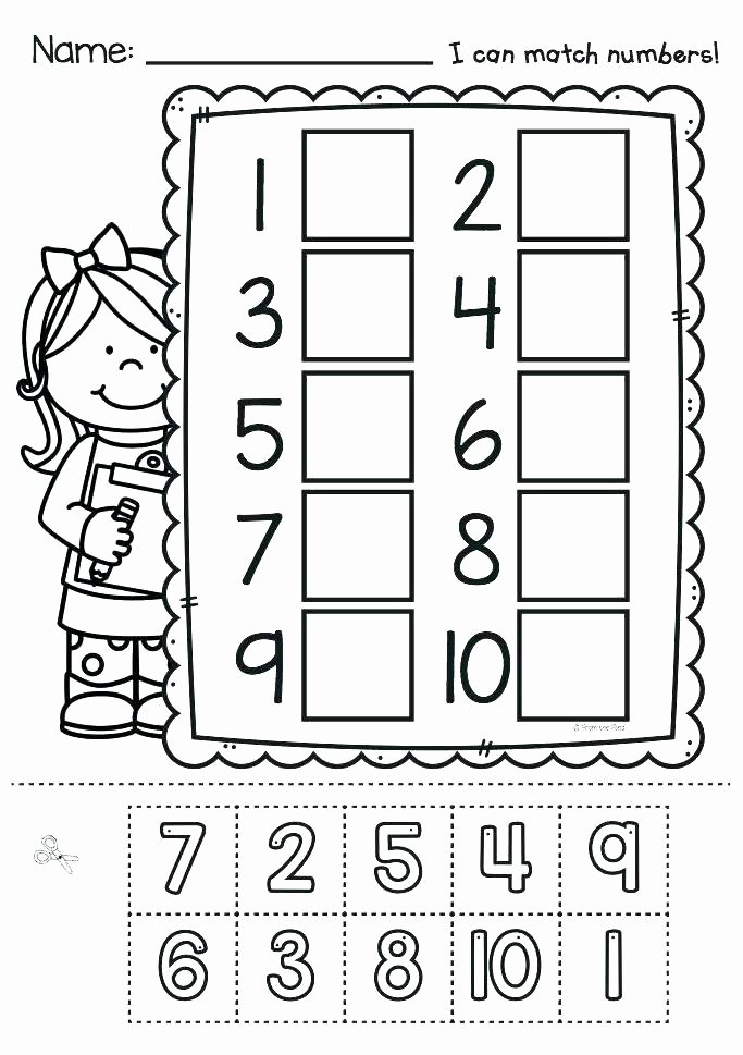 Number Recognition Worksheets 1 20 Counting Worksheets