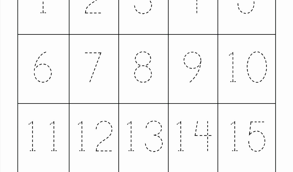 Number Recognition Worksheets 1 20 Free Printable Numbers 1 20 Worksheets