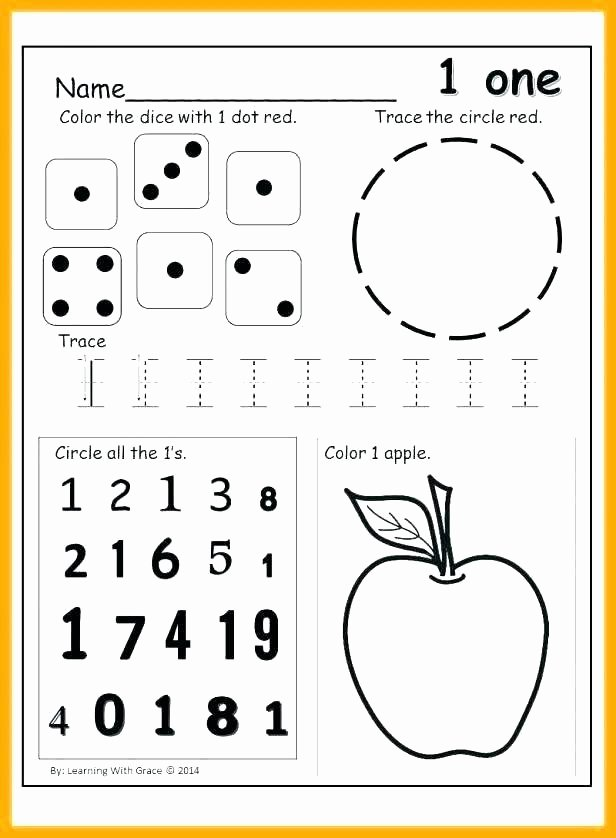 Number Recognition Worksheets 1 20 Number Recognition to 20 Worksheets