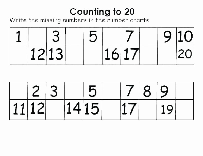 Number Recognition Worksheets 1 20 ordinal Numbers Worksheet Thanksgiving 2 Week Preschool