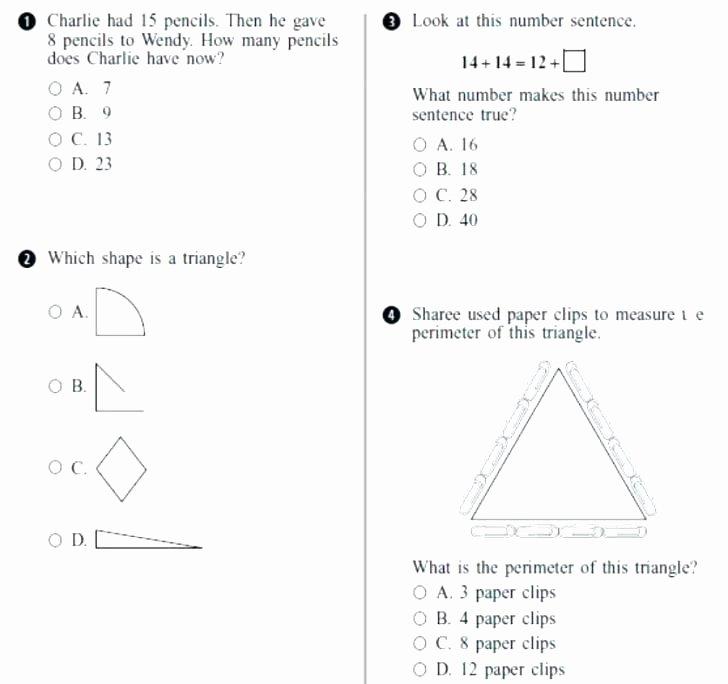 Number Sentence Worksheets 2nd Grade Kinds Sentences Worksheets 4th Grade Interrogative