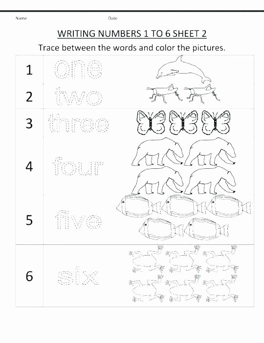 Number Tracing 1 20 1 to 100 In Words