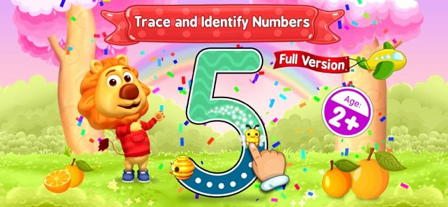 Number Tracing 1 20 123 Numbers Count & Tracing On the App Store