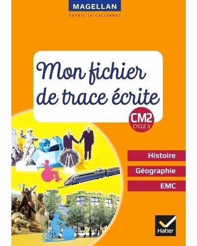 Number Tracing 1 20 Magellan Histoire Géographie Emc Cm2 Ed 2019 Fichier De Trace écrite
