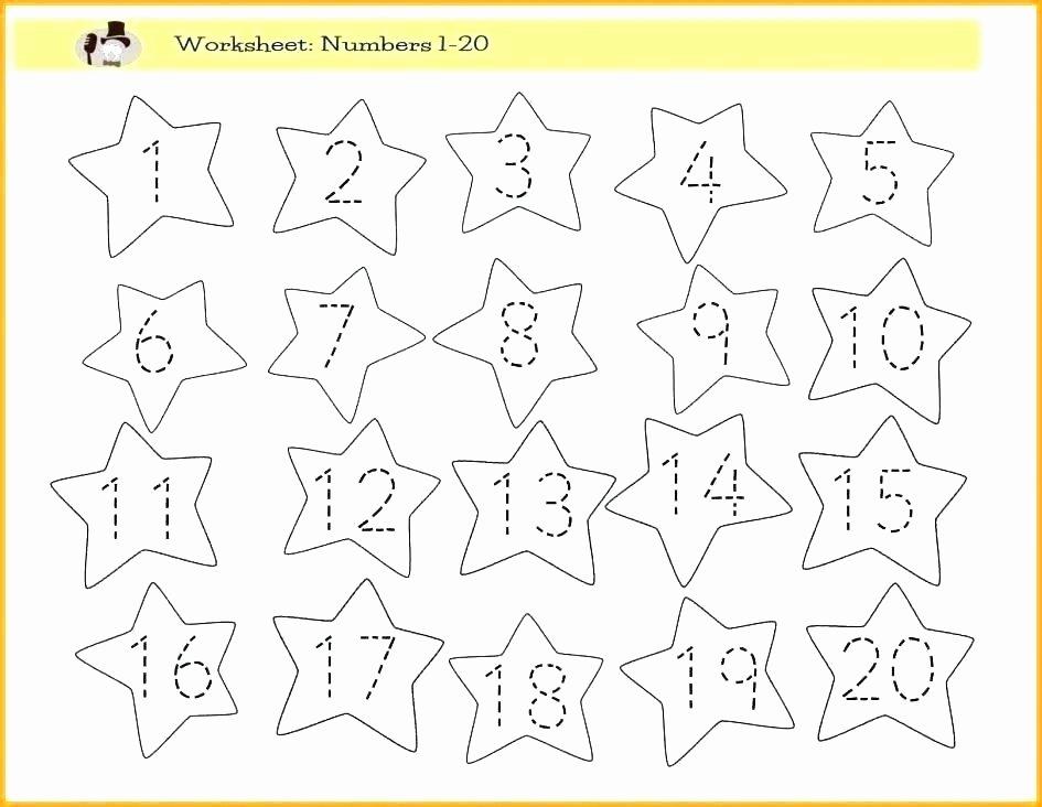 Number Tracing Worksheets for Kindergarten Free Name Tracing Worksheets for Preschool
