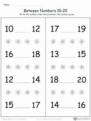 Number Tracing Worksheets for Kindergarten Kindergarten Number Tracing Worksheets 1 20