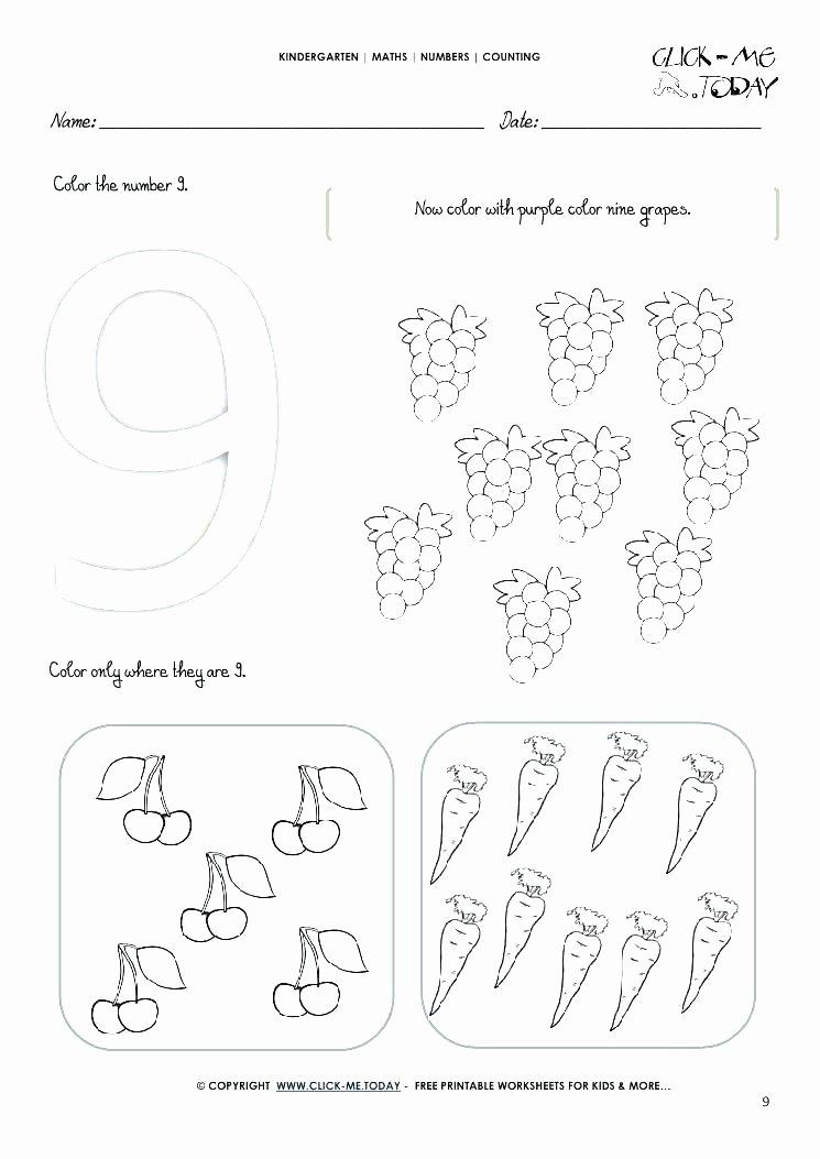 Number Tracing Worksheets for Kindergarten Printable Number Tracing Worksheets for Kindergarten Trace