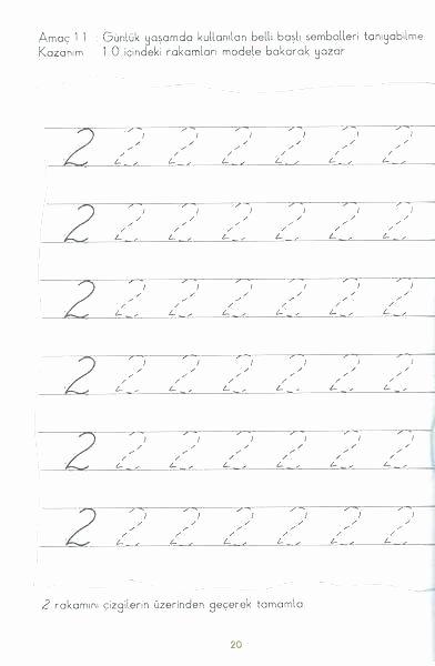 Number Tracing Worksheets for Kindergarten Writing Numbers 1 10 Worksheets 1 Number Worksheets for
