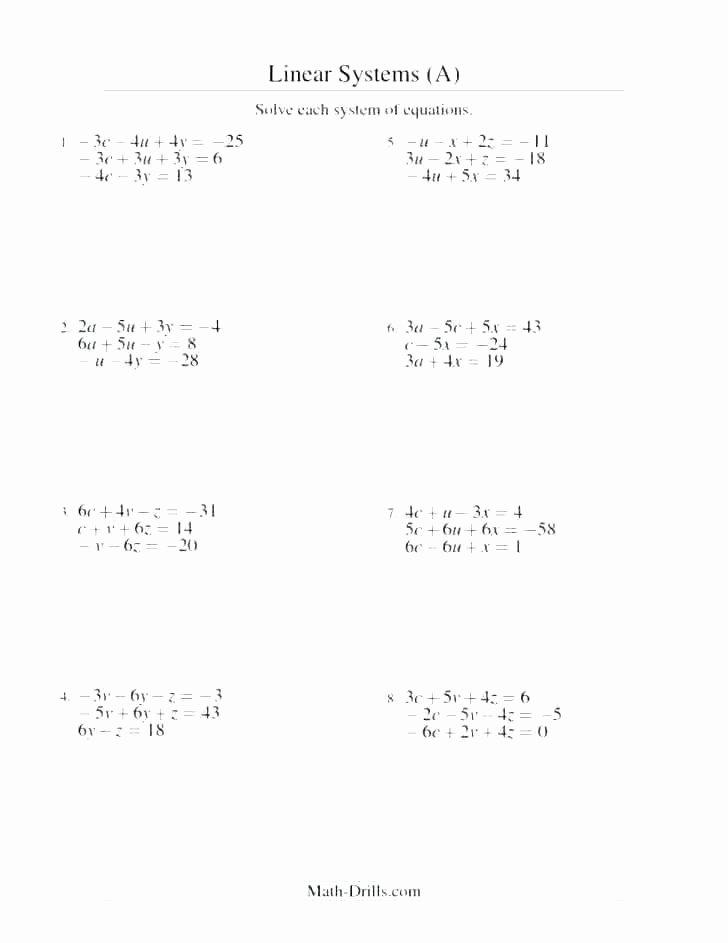 Numerical Expressions Worksheets 6th Grade Inspirational 6th Grade Equations Worksheets