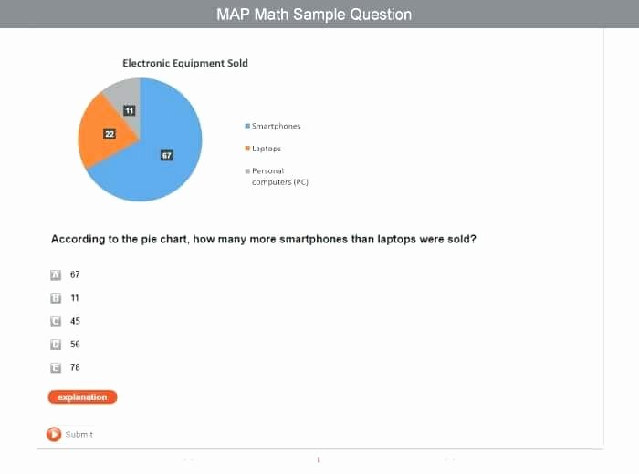 free map test practice grade online nwea reading worksheets math large
