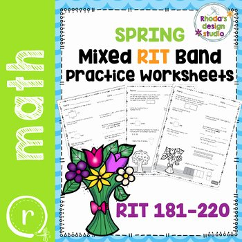 Nwea Math Practice Worksheets Rit Math Measurement and Data Worksheets & Teaching