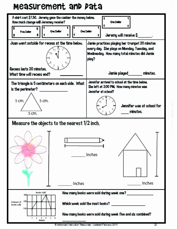 Nwea Test Prep Worksheets Grade Math Test Practice Worksheets and 6th Worksheet Fresh 3rd
