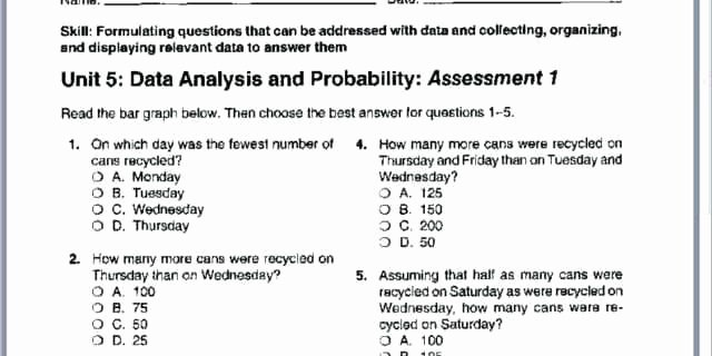 Nwea Test Prep Worksheets Map Test Practice 6th Grade Best 2nd Grade Standardized
