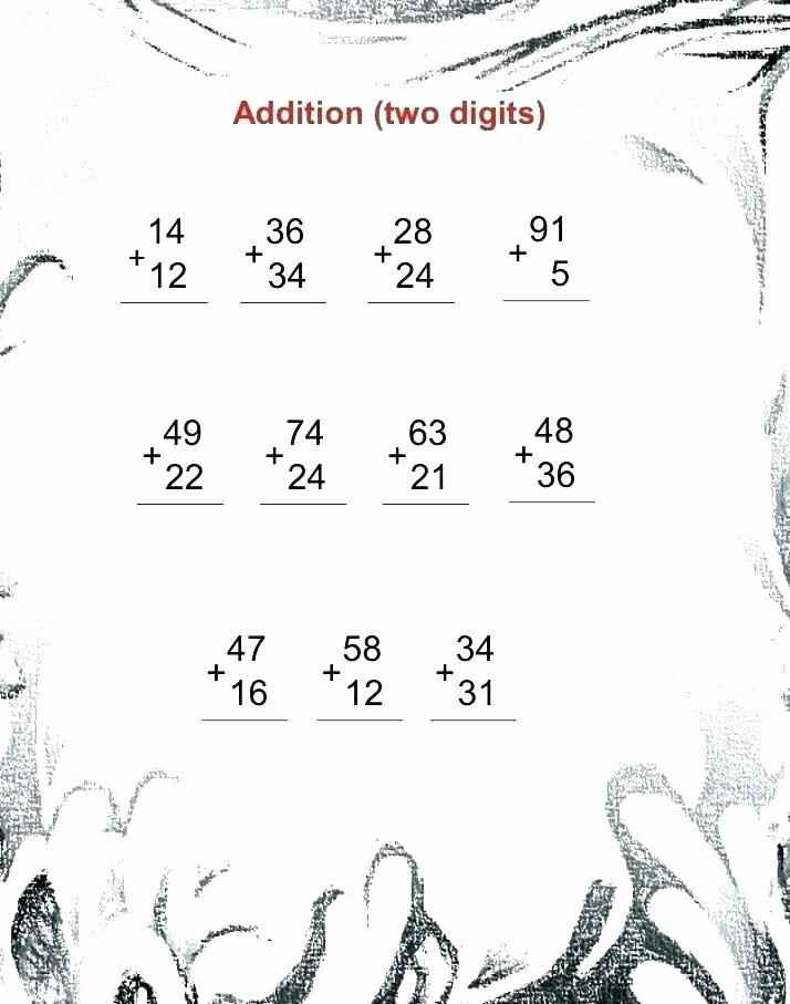 Oceans Worksheets for Kindergarten Free Printable Double Digit Addition Worksheets