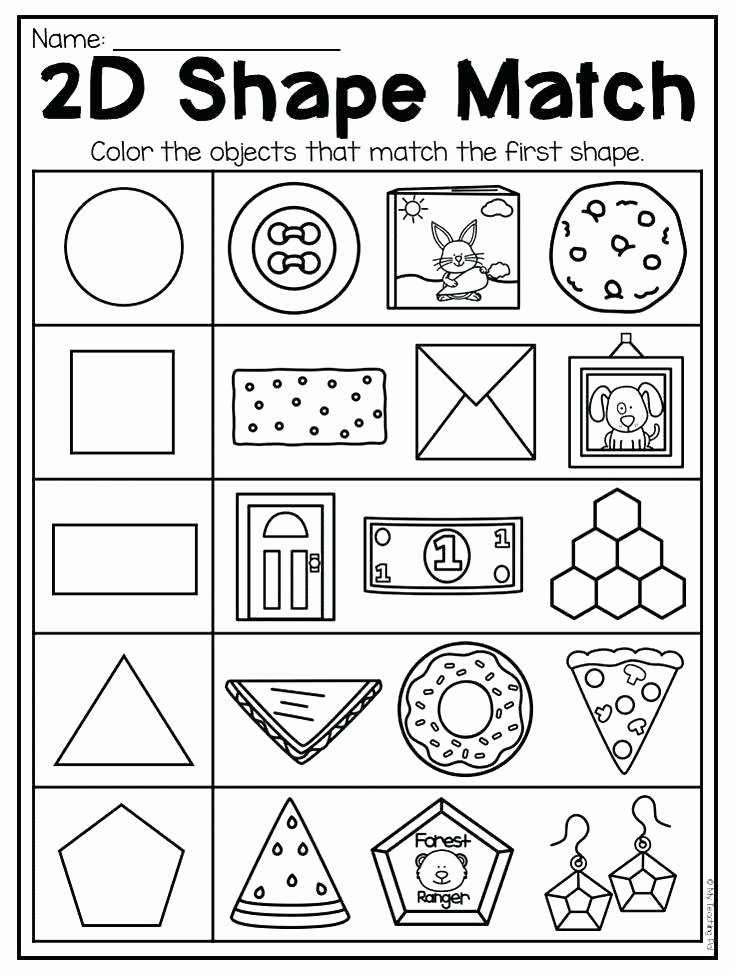 Oceans Worksheets for Kindergarten Homework Worksheets Figures Grade Kindergarten and Shapes