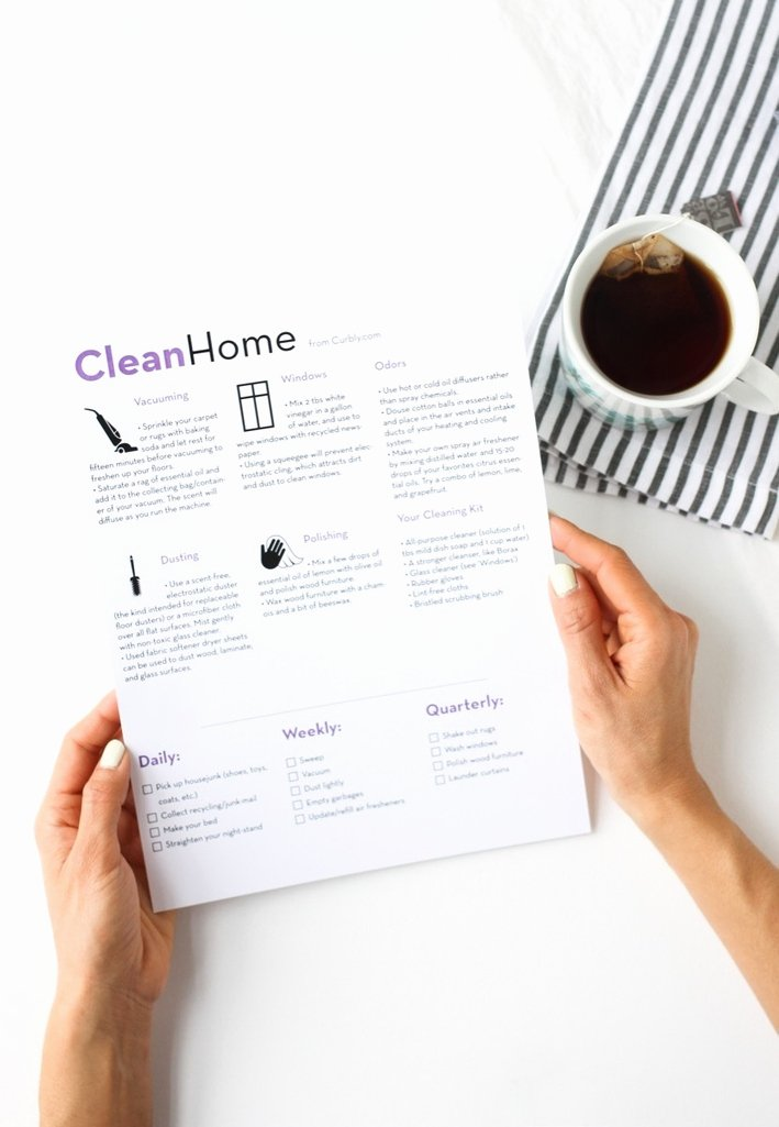 Oi and Oy Worksheets Free House Cleaning Cheat Sheet and Check List
