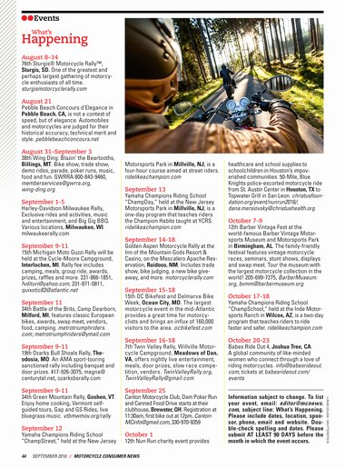 Oi and Oy Worksheets Motorcycle Consumer News September 2016 Page 44 45