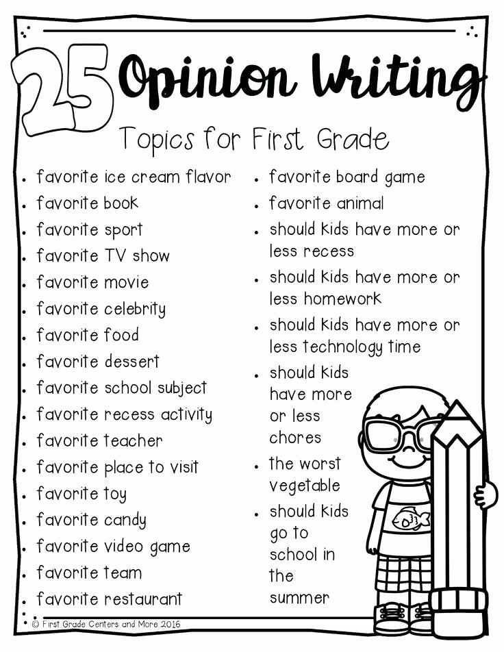 Opinion Writing Worksheets Grade 1 Writing Worksheets Free Printable Download Free