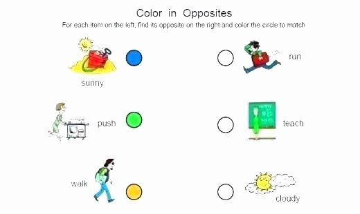 Opposites Worksheet for Kindergarten Opposites Worksheet Antonyms Worksheets Printable Activities