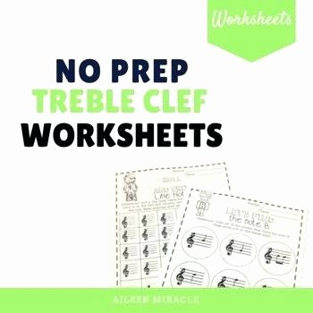 Opus Music Worksheets Answers Treble Clef Worksheets No Prep Treble Clef Music Worksheets