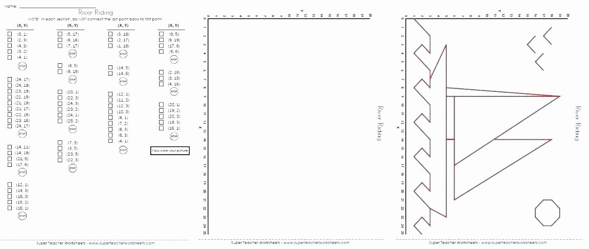 Ordered Pairs Worksheet 5th Grade Math Worksheets Practice Plotting ordered Pairs Grid to Make