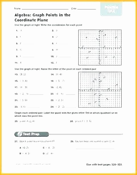 Ordered Pairs Worksheets Empty Mystery Graph Worksheets Mystery Graph Picture Worksheets