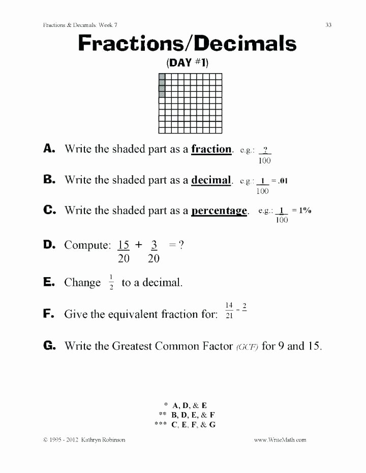 decimal worksheets 5th grade add and subtract decimals worksheet adding fractions with tenths hundredths teaching math ordering place value de