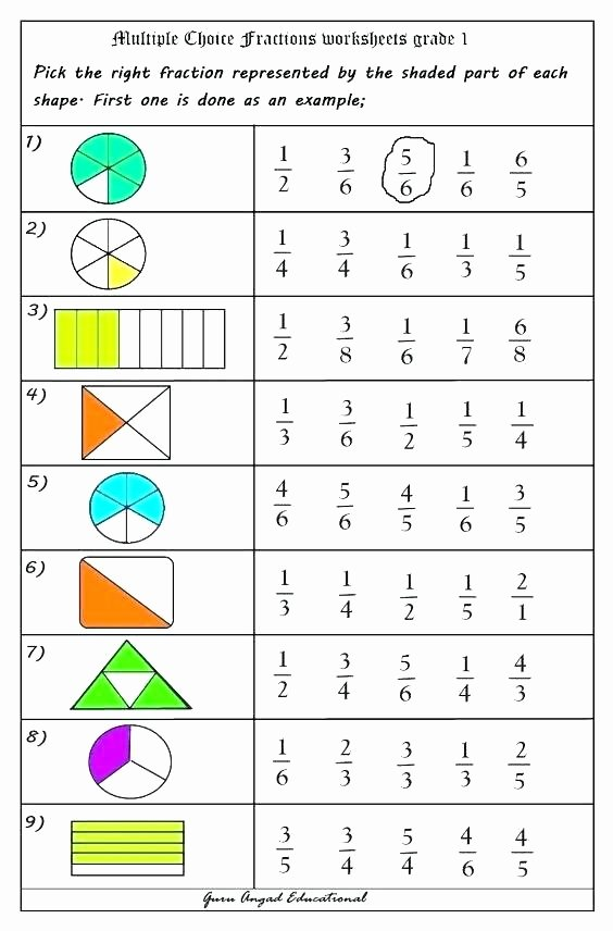Ordering Fractions Worksheet 4th Grade 5 Free Fraction Worksheets Frugal Family Educational Blogs