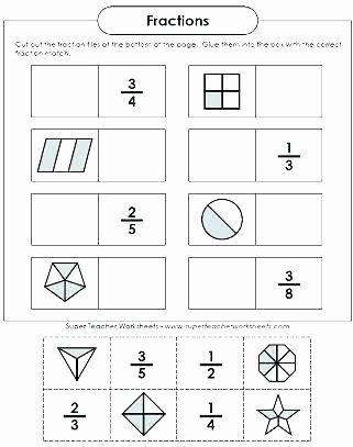 Ordering Fractions Worksheet 4th Grade Fraction Worksheets for Grade 2