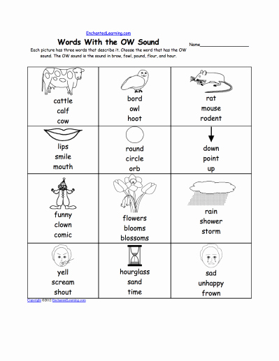 Ou Ow Worksheets Awesome Oa Ow Oe Big Phonics Bundle – Make Phonics