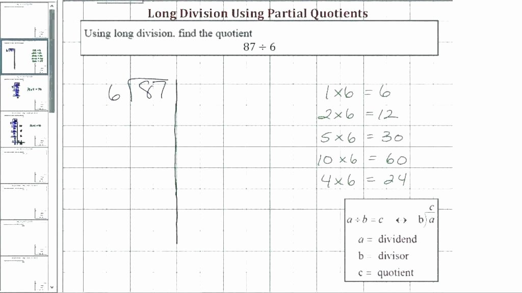 Partial Quotients Worksheet Beautiful Free Division Worksheets without Remainders Printable with