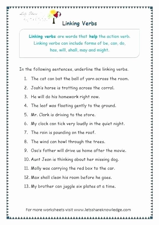 Parts Of Speech Printable Worksheets English Parts Of Speech Worksheets