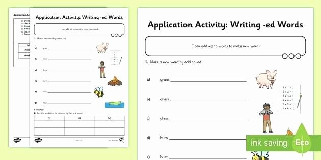 Past Tense Ed Worksheets Simple Past Tense Regular Verbs Worksheet Present and Future