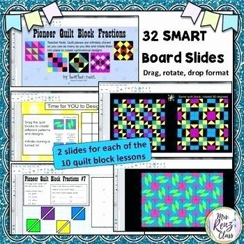 Pattern Block Fraction Worksheets Fraction Quilts Worksheets Subtraction for Designing
