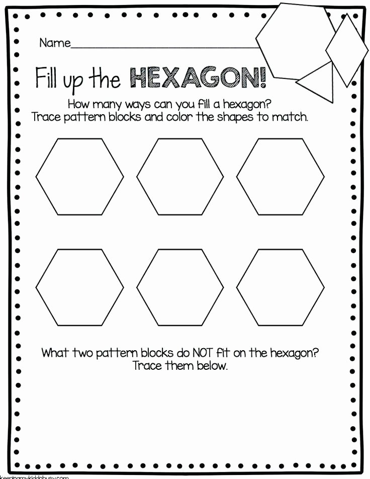 Pattern Block Fraction Worksheets Template Pattern Block Worksheets Multiplying Fractions with