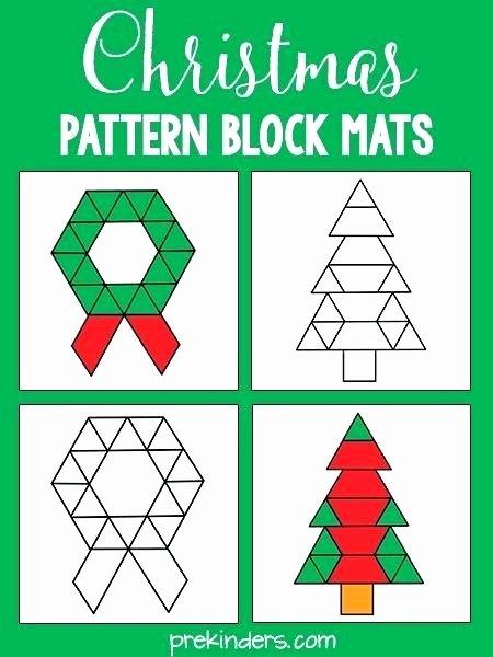 Pattern Blocks Worksheets Pattern Block Template – Musacreative