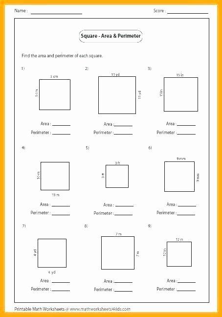 Perimeter Worksheet 3rd Grade area and Perimeter Worksheets 3rd Grade – Roshetwo