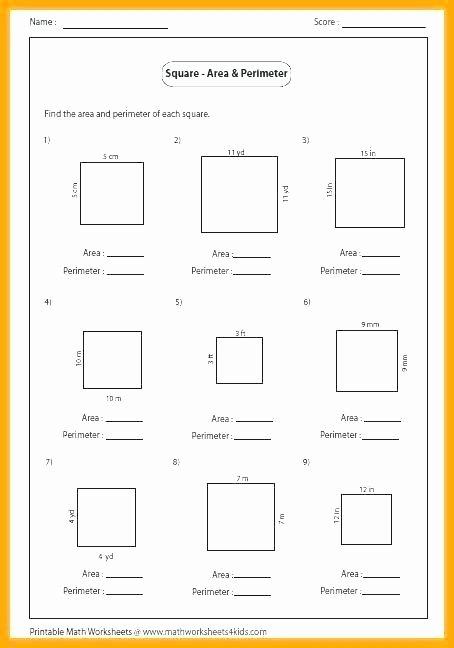 Perimeter Worksheet for 3rd Grade 2nd Grade area and Perimeter Worksheets 4 Geometry Worksheet