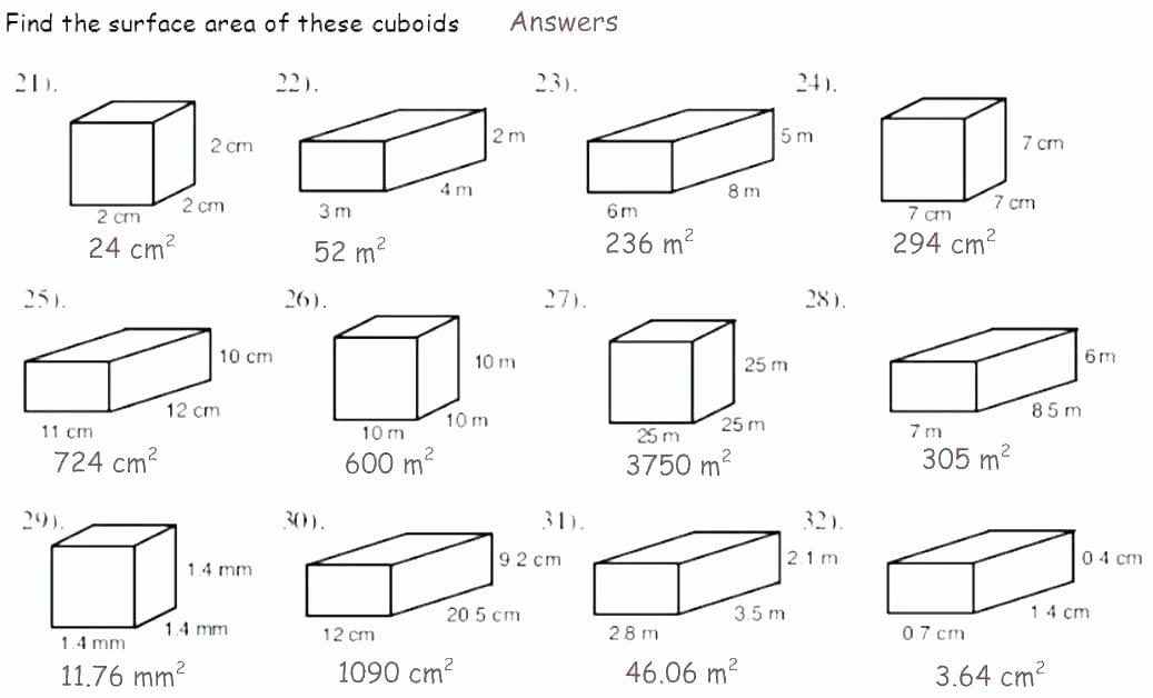 Perimeter Worksheet for 3rd Grade Volume Printable Worksheets Worksheet Preschool Download