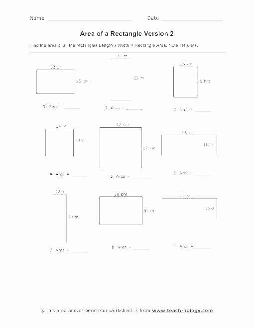 Perimeter Worksheets 3rd Grade Pdf area Worksheets Pdf