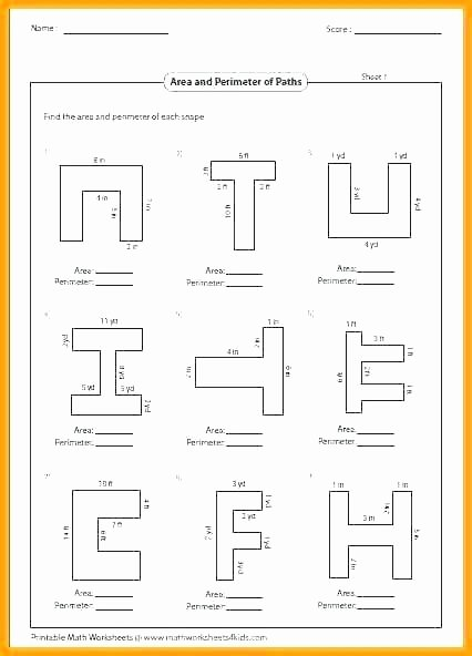 Perimeter Worksheets 3rd Grade Pdf Nets and Surface area Worksheets Math Worksheets 3rd Grade