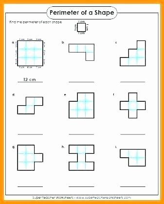 Perimeter Worksheets for 3rd Grade Perimeter Worksheets 3rd Grade
