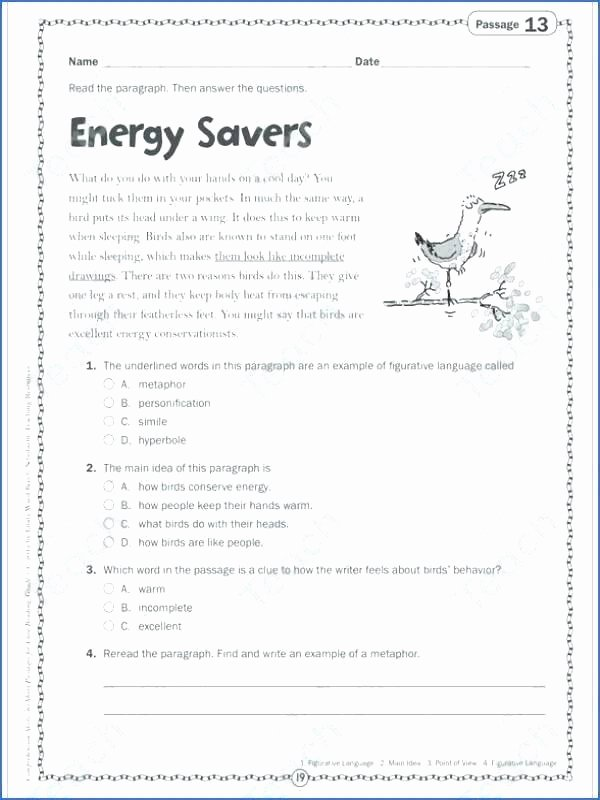Personification Worksheet 2 Science Process Skills Worksheets Science Skills Worksheet