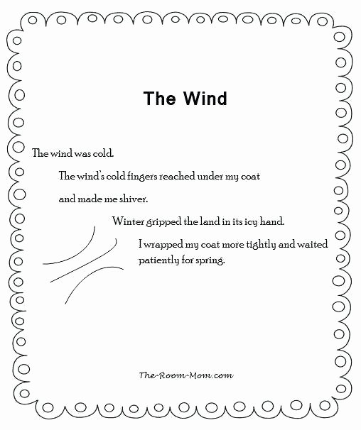 Personification Worksheet Answers Winter Poem Template – Newgameplus