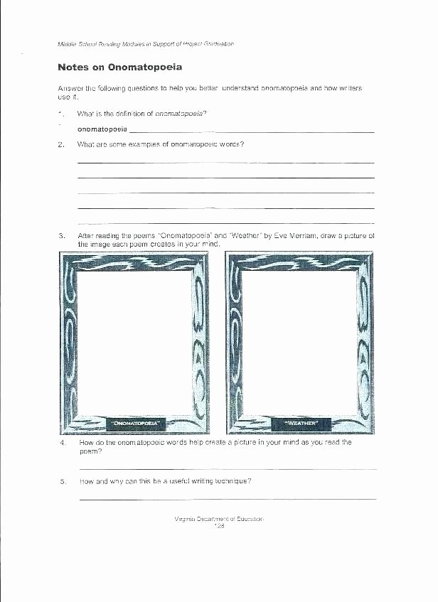 Personification Worksheets for Middle School This Rhyme Scheme Worksheet Personification Worksheets 1
