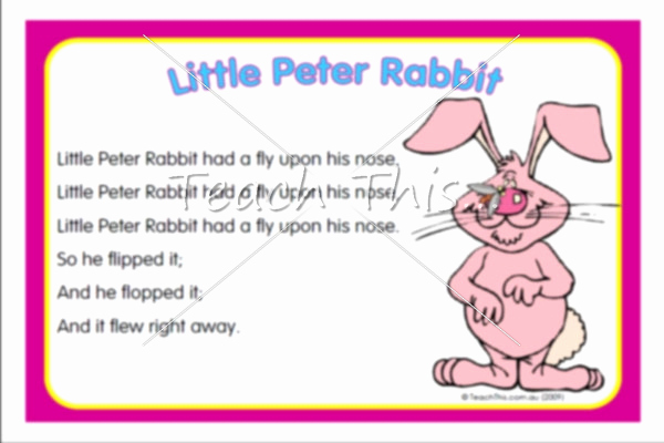 Peter Rabbit Worksheets Little Peter Rabbit song Related Keywords & Suggestions