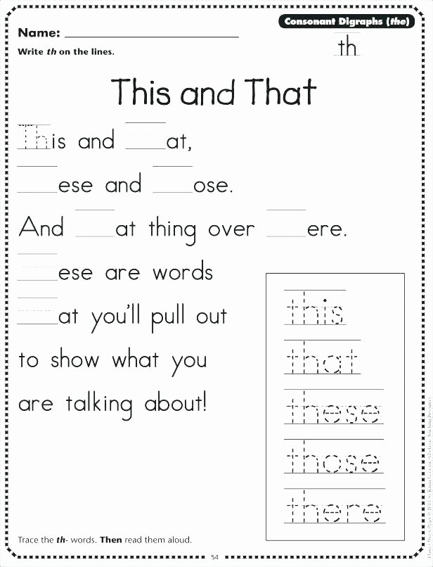 Ph Phonics Worksheet Phonics Worksheets Kids Best for First Grade A B