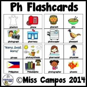 Ph Phonics Worksheets Ph sound Worksheet Letter Pronunciation sound Worksheet Ph