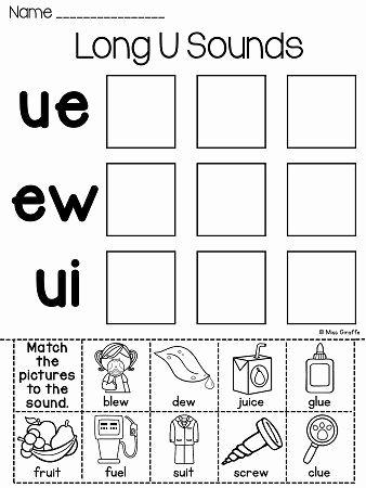 Phonics Floss Rule Worksheet Ew Ue Ui Worksheets & Activities No Prep